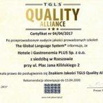 Certyfikat TGLS