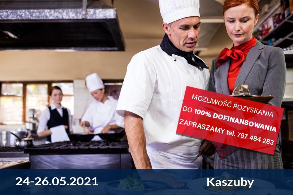 Akademia Managera gastronomii i Szefa Kuchni – zarządzanie gastronomią – edycja wiosenna