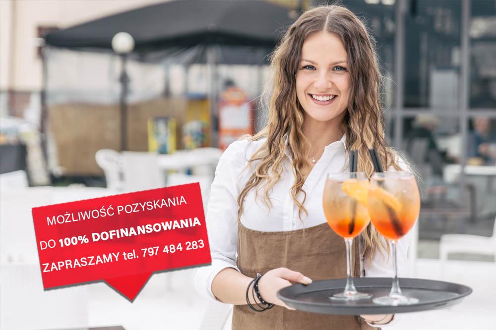 Warsztaty kelnerskie z technikami sprzedaży w branży gastronomicznej